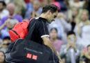 Il tennista svizzero Roger Federer è stato eliminato ai quarti di finale degli US Open