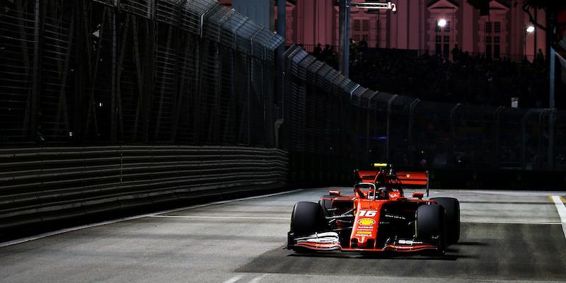 molto carino c53a5 34316 Il Gran Premio di Singapore di Formula 1 in TV e in ...