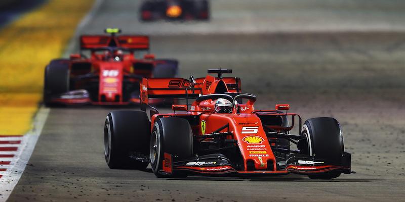 San Francisco 81489 8576b Sebastian Vettel ha vinto il Gran Premio di Singapore di ...