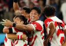 L'impresa del Giappone nella Coppa del Mondo di rugby
