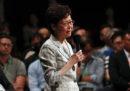 A Hong Kong c'è stato il primo di una serie di incontri pubblici tra la governatrice Carrie Lam e la popolazione