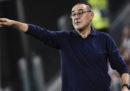 La Juventus ha esonerato l'allenatore Maurizio Sarri