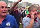Il video dei militanti della Lega che insultano Gad Lerner a Pontida