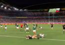 Una meta degli All Blacks ricostruita in 3D da Canon