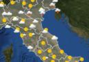 Le previsioni meteo per mercoledì 18 settembre