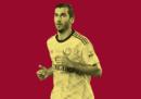 Henrikh Mkhitaryan in prestito dall'Arsenal alla Roma