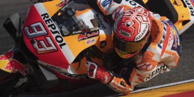 Marc Marquez ha vinto il Gran Premio d'Aragona di MotoGP