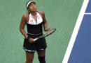 La tennista giapponese Naomi Osaka è stata eliminata agli ottavi di finale dagli US Open, di cui era campionessa in carica