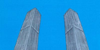 Le immagini delle Torri Gemelle dopo l'11 settembre