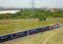 Sempre più merci vanno e vengono dalla Cina in treno