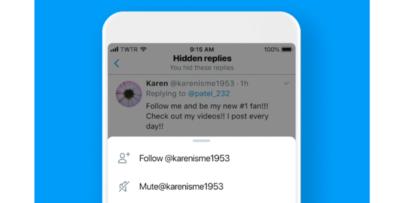 In Giappone e negli Stati Uniti Twitter permetterà di nascondere le risposte di una conversazione
