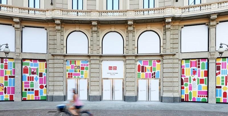 Uniqlo ha aperto il primo negozio in Italia, a Milano