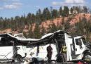 Quattro turisti cinesi sono morti in un incidente d'autobus nello Utah