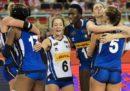 L'Italia femminile di pallavolo ha battuto la Russia e si è qualificata alla semifinale degli Europei