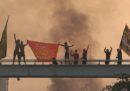 Le violente proteste contro il governo in Iraq