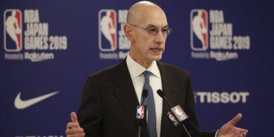 Il capo della NBA ha detto che la lega non chiederà scusa per le opinioni del general manager degli Houston Rockets in difesa delle proteste di Hong Kong