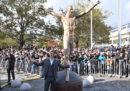 A Malmö c'è una grossa statua di Zlatan Ibrahimovic
