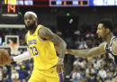 La NBA ha annullato tutte le conferenze stampa per le partite amichevoli tra Los Angeles Lakers e Brooklyn Nets in Cina