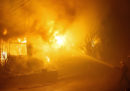 Le ultime sugli incendi in California