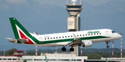 Alitalia ha cancellato 137 voli a causa di uno sciopero dei controllori di volo tra le 13 e le 17 di lunedì