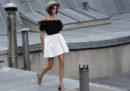 La sfilata di Chanel sui tetti di Parigi