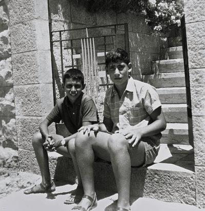 Netanyahu, quando era solo un 17enne