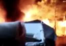 Lunedì sera si è sviluppato un incendio nel centro per migranti dell'isola di Samos, in Grecia: più di 4 mila persone sono state evacuate