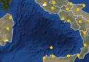 Le previsioni meteo per lunedì 21 ottobre