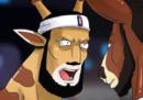 Il profilo Instagram di LeBron James in versione giraffa