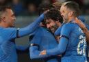 Le foto della partita fra vecchie glorie del calcio italiano e tedesco