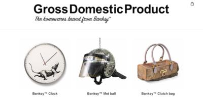 Banksy ha aperto un negozio online