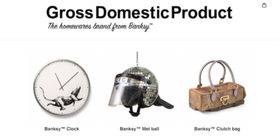 Banksy apre un negozio online: ecco cosa c'è in vendita