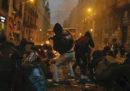 La notte più violenta a Barcellona