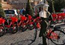 A Roma è stato attivato Uber Jump, il servizio di bike sharing elettrico di Uber