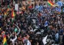 Le proteste in Bolivia per i risultati delle elezioni