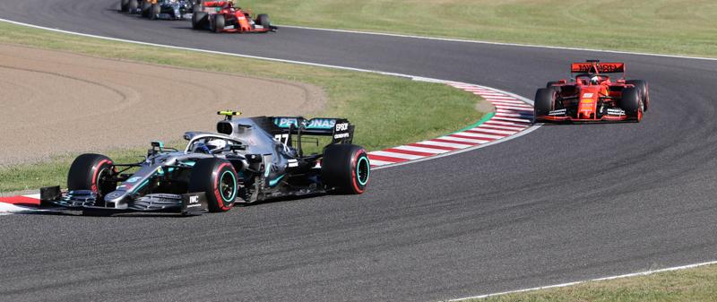 Valtteri Bottas ha vinto il Gran Premio di Formula 1 in Giappone