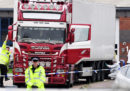 La polizia britannica ha confermato che le 39 persone trovate morte in un camion erano cinesi