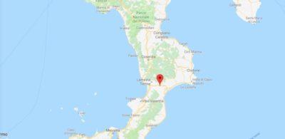 C'è stato un terremoto di magnitudo 4.0 in provincia di Catanzaro