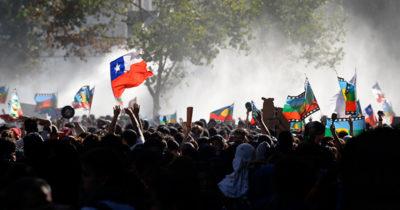 In Cile continuano le proteste