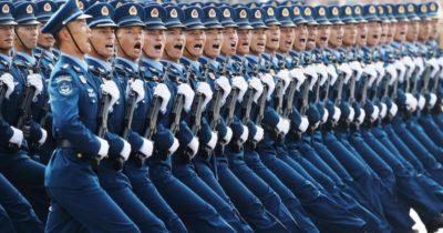 Le armi sfoggiate martedì dalla Cina
