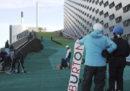 Ha aperto la pista da sci sopra il termovalorizzatore di Copenaghen
