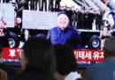 La Corea del Nord ha testato un missile balistico sottomarino a lungo raggio , come non faceva dall'agosto del 2016