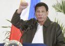 Il presidente delle Filippine Rodrigo Duterte ha detto di avere una malattia neuromuscolare cronica