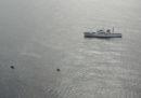 Una nave di pattuglia giapponese e un peschereccio nordcoreano si sono scontrati lunedì mattina