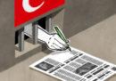 Quasi 200 i giornalisti incarcerati in Turchia