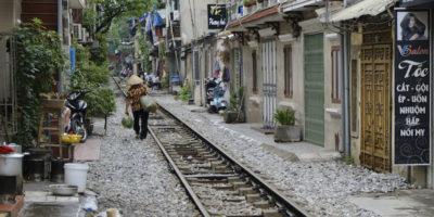 """È la fine per la """"strada del treno"""" di Hanoi?"""