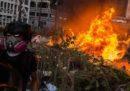 Hong Kong ha vietato le maschere