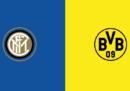 Inter-Borussia Dortmund in diretta TV e in streaming