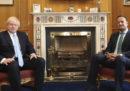 Dopo essersi incontrati, Boris Johnson e il primo ministro irlandese Leo Varadkar hanno detto che c'è ancora una possibilità per un accordo su Brexit