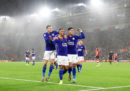 Il Leicester City ha vinto 9-0 una partita di Premier League inglese